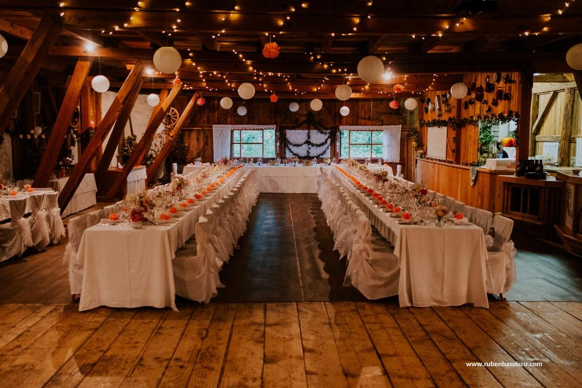 Hochzeit mit schleierkraut floral m for Raumgestaltung hochzeit